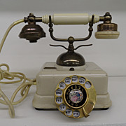 Vintage - Made in Japan - Brass Phone