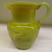 Vintage - Glass - Art Glass Pitcher