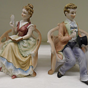 Vintage - Porcelain - Lefton China - Figurines