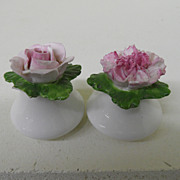 Vintage - Porcelain - Aynsley Salt and Pepper Shakers