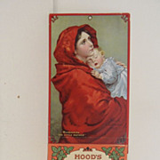 Vintage - Calendar - Hood's 1914