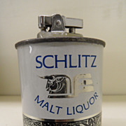 Vintage - Lighter - Schlitz Beer 1963