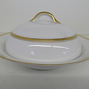Vintage - Porcelain - Noritake RC Nippon - Covered Butter Dish