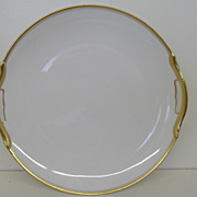 Vintage - Porcelain - Noritake RC Nippon - Handled Cake Plate 10&quot;