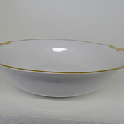 Vintage - Porcelain - Noritake RC Nippon - Handled Serving Bowl 9 1/2""