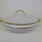 Vintage - Porcelain - Noritake RC Nippon - Covered Vegetable Dish
