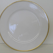 Vintage - Porcelain - Noritake RC Nippon - Luncheon Plate 8 1/2&quot;