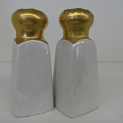 Vintage - Porcelain - Limoges - Salt and Pepper Shakers