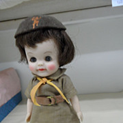 Vintage - Doll - Effanbee - Brownie