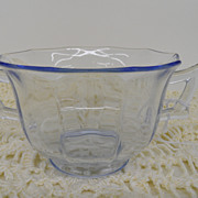 Vintage - Glass- Depression Glass - Cambridge - Sugar Bowl