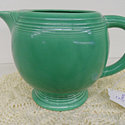 Vintage - Pottery - Fiesta - Pitcher - Green