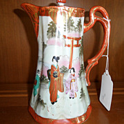 Vintage - Porcelain - Nippon - Chocolate Pot