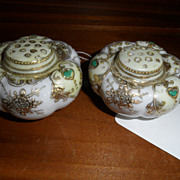 Vintage - Porcelain - Nippon - Powder Shakers