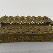 Vintage - Art Nouveau - Tissue Box