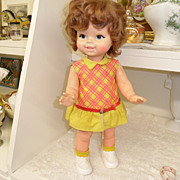 Vintage - Mattel - Doll - Baby First Step 1967