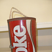 Vintage - Coca Cola Cooler - Holds a 6 pack!