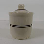 Vintage - Porcelain - Iroqouis China - Mustard Server