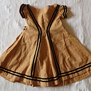 SOLD 1860 Antique girl's dress