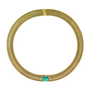 Tiffany & Co. Tourmaline and Gold Necklace