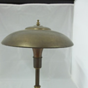 Vintage Brass Electric Desk Lamp
