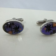 SALE Vintage Butterfly Wings Men's Cuff Links
