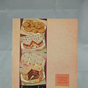 1934 Successful Baking Arm & Hammer Cow Brand Cook Book