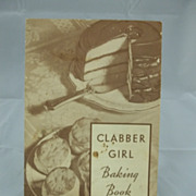 Vintage Advertising Clabber Girl Baking Book