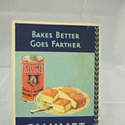 1931 Calumet Baking Book Recipes Advertising Powder
