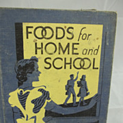 Vintage 1948 Home Economics Textbook