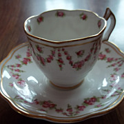 Demi-Tasse Cup and Saucer Made in England