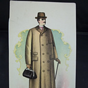 Cleveland Rubber Works Box Coat Trading Card