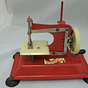 "Vintage ""Gateway""  Child's Sewing Machine"
