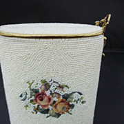 Vintage Japan Handmade Beaded Purse by Schildkraut Brothers