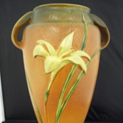 Vintage Zephyr Lily Roseville Vase #141