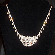 Kramer of New York Rhinestone Necklace