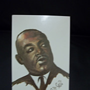 Black Historical Americana Martin Luther King, Jr. Postcard