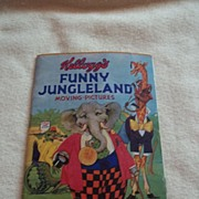 Kellogg's Funny Jungleland-Moving Pictures 1932 Book
