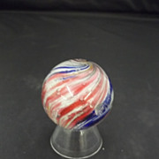 Handmade German Onion Skin Marble/Pink,White and Blue