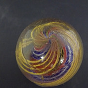 Handmade German Open Core Swirl Marble