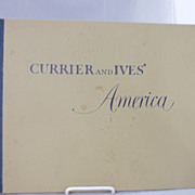 Currier & Ives Sketch Book Prints