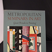 Metropolitan Seminars in Art by John Canady/ Volume L