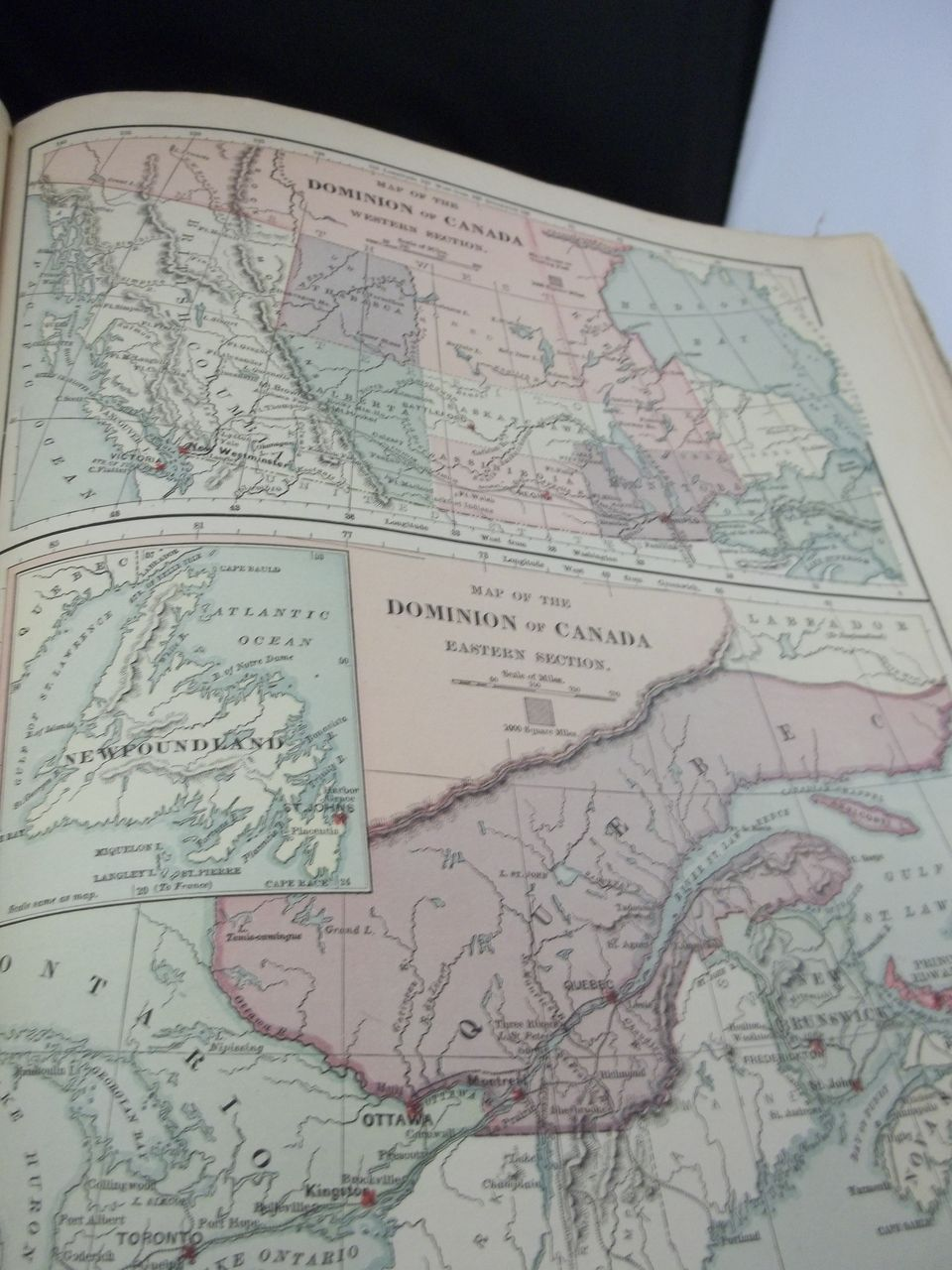 1885 Harper's Book of Geography