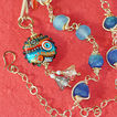 &quot;Eye of the Sea&quot; Pendant & 14KGF Necklace