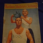 1936 Olympic Games Collectible Magazine Berlin Germany