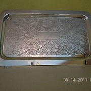 Vintage F.B. Rogers Silver Co. Silverplated Small Tray