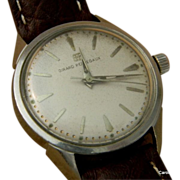 1965 Girard-Perregaux Gryromatic Wrist Watch **It Runs**