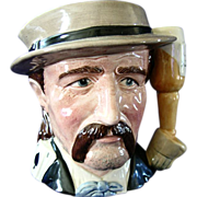 Royal Doulton Wild Bill Hickock Pitcher  (Hickok) Character Mug Toby