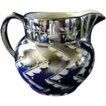Ridgways Silver Luster Cream Pitcher 1905