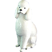 USSR Lomonosov Porcelain Poodle