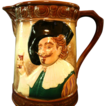 English &quot;Cavalier&quot; Large Pitcher by Falcon Ware